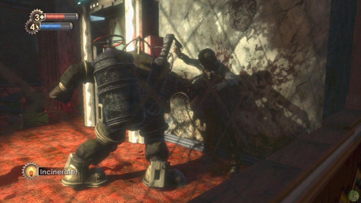 Big Daddy Bioshock Vs A Unarmed Sangheili Major Halo
