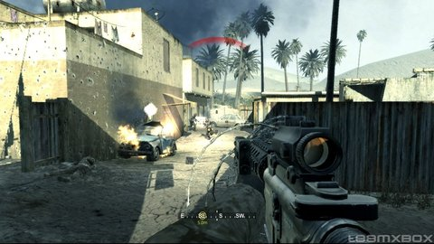 Call Of Duty 4 Marines Invasion Injured