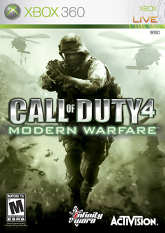 Call of Duty 4: Modern Warfare Cover