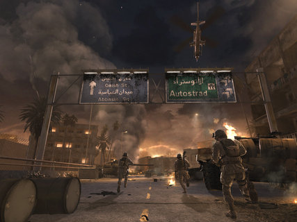 Call Of Duty 4 Modern Warfare Destruction