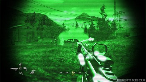 Call Of Duty 4 Night Vision Grenades
