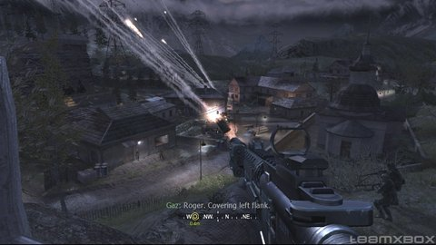 Call Of Duty 4 Soap Surface Air Missiles
