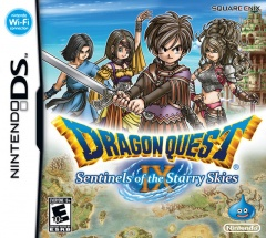 Dragon Quest 9 Cover