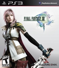 Final Fantasy 13 ps3 Cover
