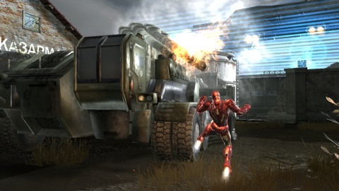 Iron man 2 Tank Kick