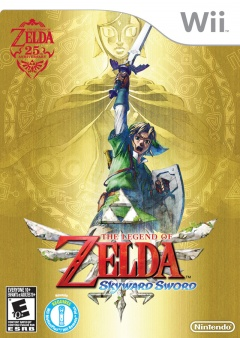 Legend of Zelda Skyward Sword Cover