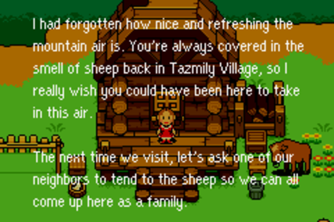 Mother 3 Hinawa Writing Letter Monologue
