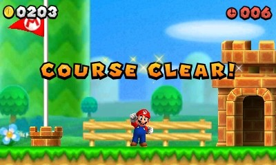 new Super Mario Bros 2 Clear