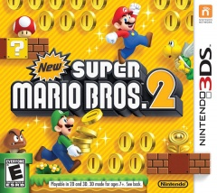 New Super Mario Bros. 2 Cover