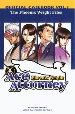 Phoenix Wright Files ace Attorney Casebook 1 Cover