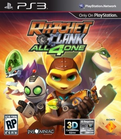 Ratchet and Clank all 4 one Cover