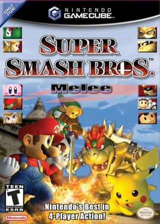 Super Smash Bros Melee Cover